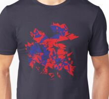 Purple and red Explode Unisex T-Shirt