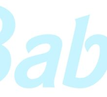 Babe - Pastel Blue by agShop
