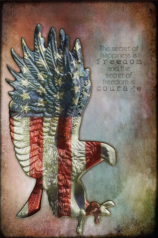 Memorial Day - Freedom is Courage by Myillusions