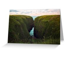 North Sea, Cruden Bay 2 - North East coast of Aberdeenshire, Scotland Greeting Card