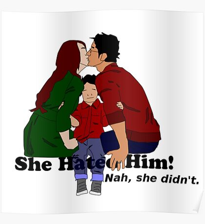 Jily She Hated Him Poster