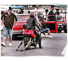 Awaiting Race Time Poster