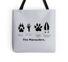 Marauders Animagus Footprint  Tote Bag