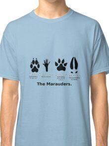 Marauders Animagus Footprint  Classic T-Shirt