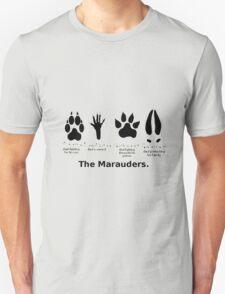 Marauders Animagus Footprint  T-Shirt