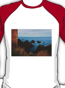 North Sea, Cruden Bay - From Slains Castle - North East coast of Aberdeenshire, Scotland T-Shirt