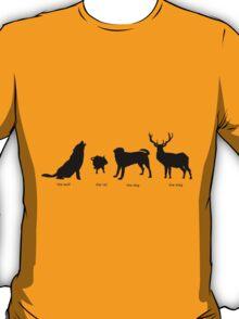 Marauders Full Body Animagus T-Shirt