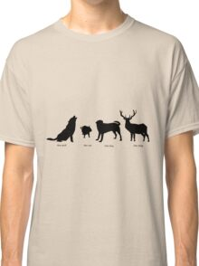 Marauders Full Body Animagus Classic T-Shirt