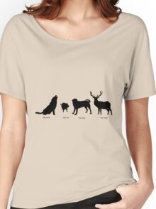 Marauders Full Body Animagus Women's Relaxed Fit T-Shirt