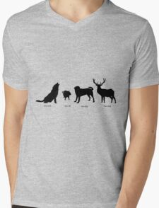 Marauders Full Body Animagus Mens V-Neck T-Shirt