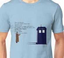 Doctor Who TARDIS River Song Quote Unisex T-Shirt