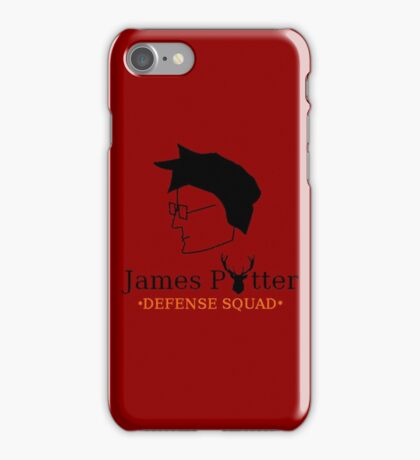James Potter Defense Squad iPhone Case/Skin