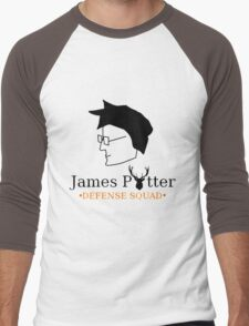 James Potter Defense Squad Men's Baseball ¾ T-Shirt