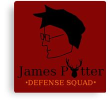 James Potter Defense Squad Canvas Print