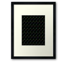 Chatty cats Framed Print