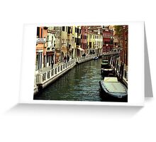 Hotel Gardena - Venice Greeting Card