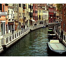 Hotel Gardena - Venice Photographic Print