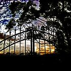 Gate Silhouette by Virginiad