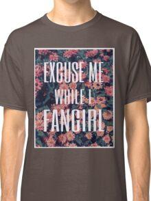 'Scuse Me While I Fangirl Classic T-Shirt