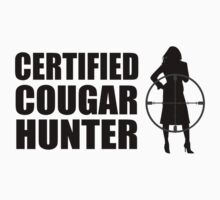 Certified Cougar Hunter by DesignMC