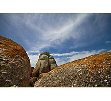 Clouds at Picnic Rocks Photographic Print
