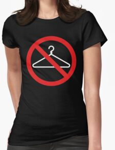 No Wire Hangers EVER Womens Fitted T-Shirt