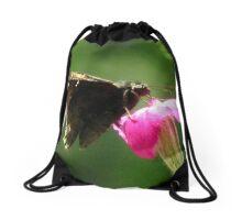 Common Sootywing (Pholisora catullus) Drawstring Bag