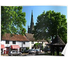 Woolpit, Suffolk, 2010 Poster