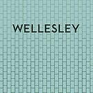 WELLESLEY Subway Station by Daniel McLaren