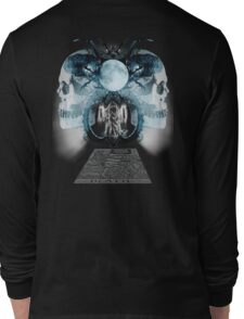 Death Card Facing Long Sleeve T-Shirt