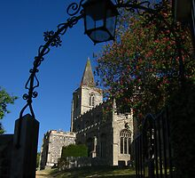 Lantern and St Nicholas Church, Rattlesden by wiggyofipswich