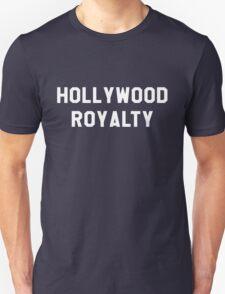 Hollywood Royalty- White Unisex T-Shirt