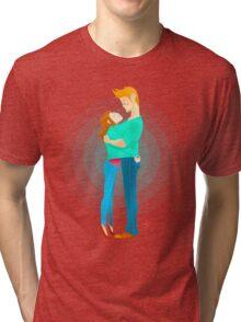 Community: Jeff & Annie Hugging  Tri-blend T-Shirt