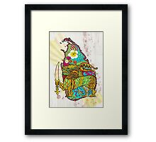 Tear Drop of the Indian Ocean Framed Print