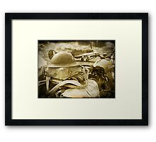 The Battle Of Britain is About to Begin - 1940 Framed Print