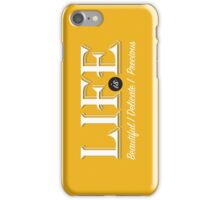 Life iPhone Case/Skin