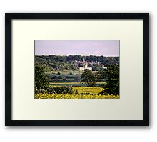 Across the Fields Framed Print