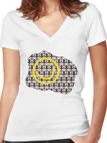 Sherlock Got Bored Women's Fitted V-Neck T-Shirt