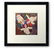 Love Triangle Framed Print