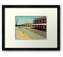 The Five Ways - Maryborough Qld Framed Print
