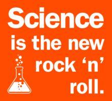 Science is the new rock 'n' roll Kids Tee