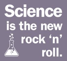 Science is the new rock 'n' roll Kids Tee