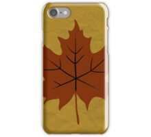 Autumn is Here iPhone Case/Skin