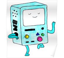 Watercolour BMO. Poster