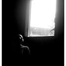 girl in the window by Michael Bateman