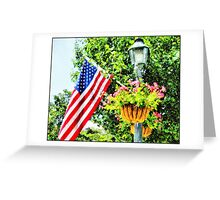 Small Town....USA Greeting Card