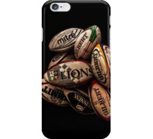 Rugby Balls iPhone Case/Skin