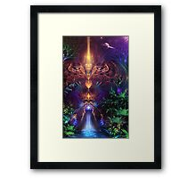 Ancient Infinite Framed Print