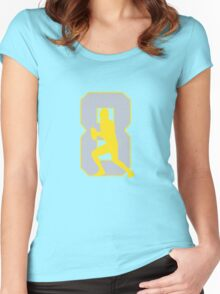 Oregon No. 8 Women's Fitted Scoop T-Shirt
