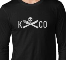 K&CO Short Black Long Sleeve T-Shirt